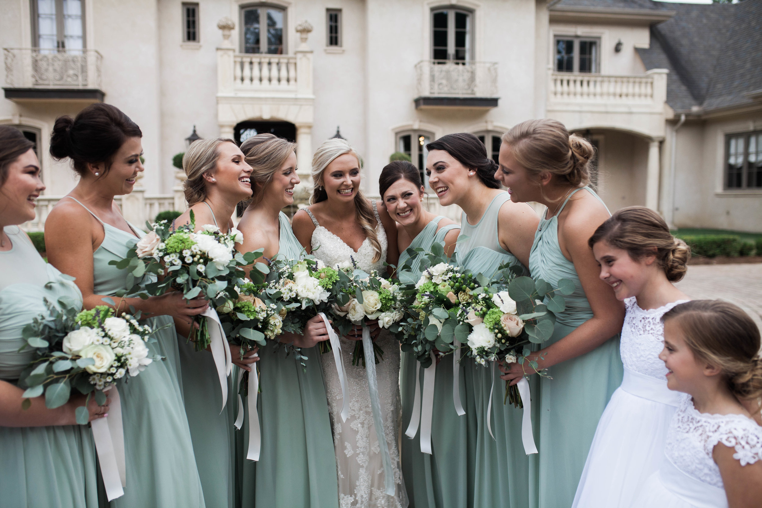 StoneWood Farms | Bride and bridesmaids