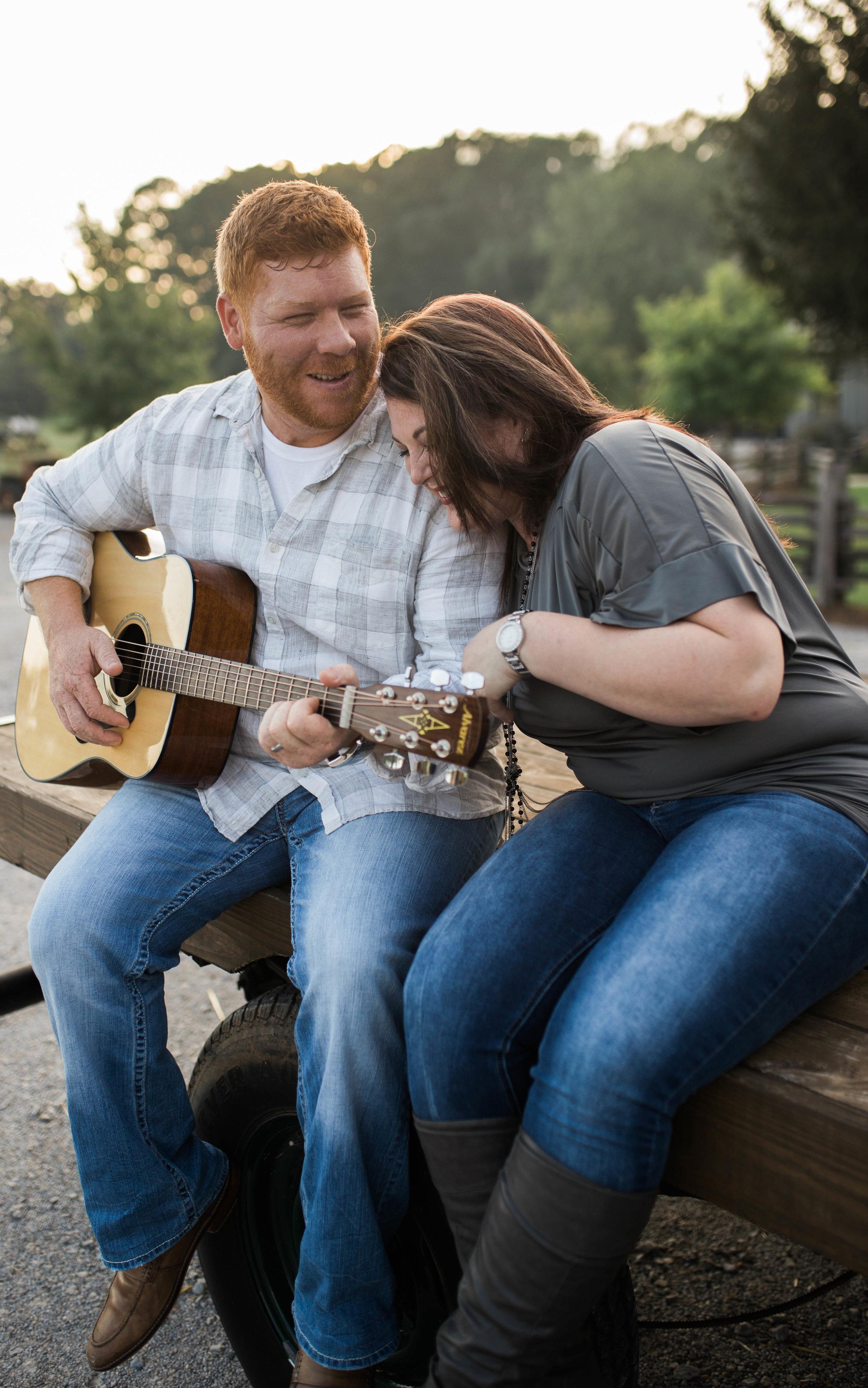 Engagement Session | Cedar Creek Nursery | Montevallo, AL