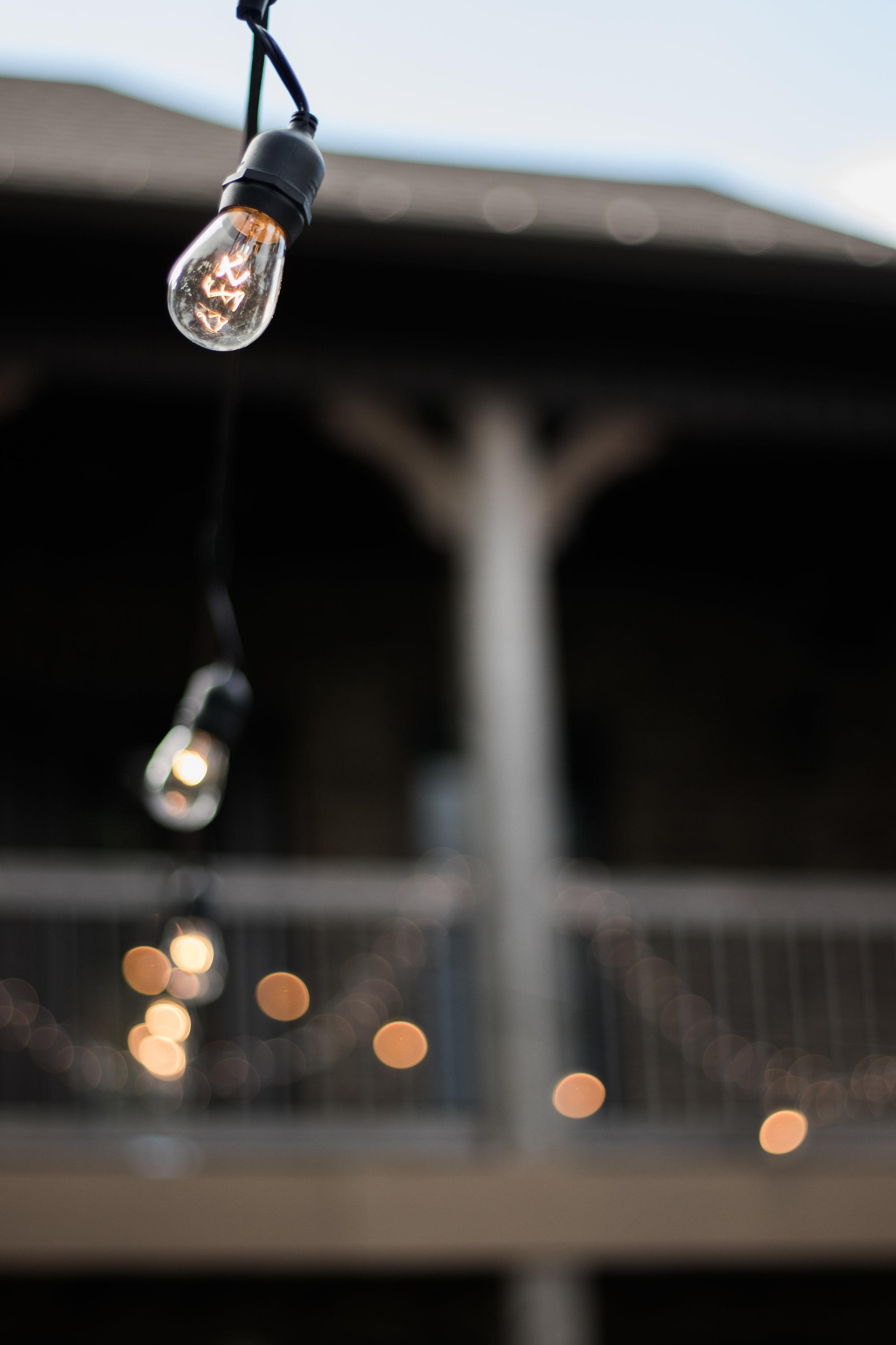 Wedding string lights | Smith Lake | Bremen, AL