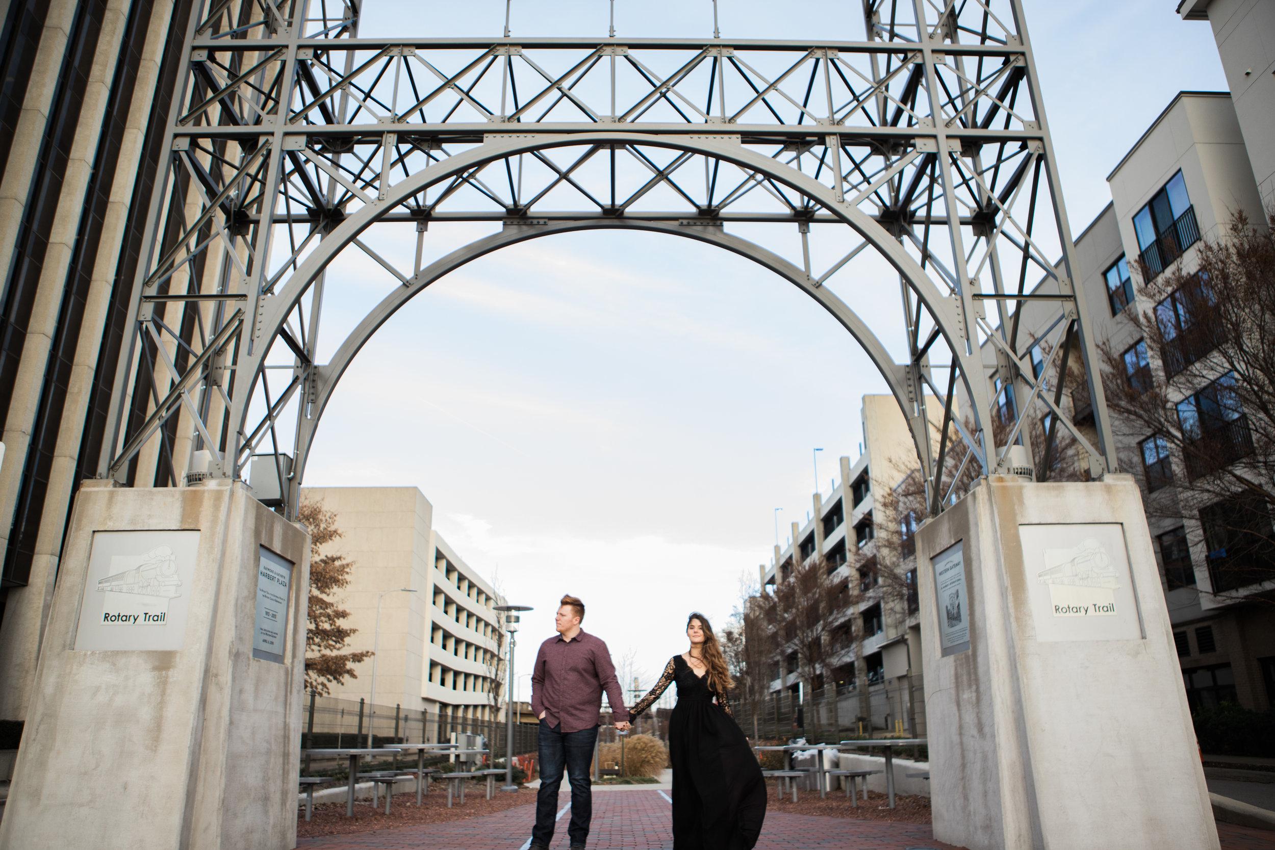 Engagement Photography | Rotary Trail | Birmingham, AL