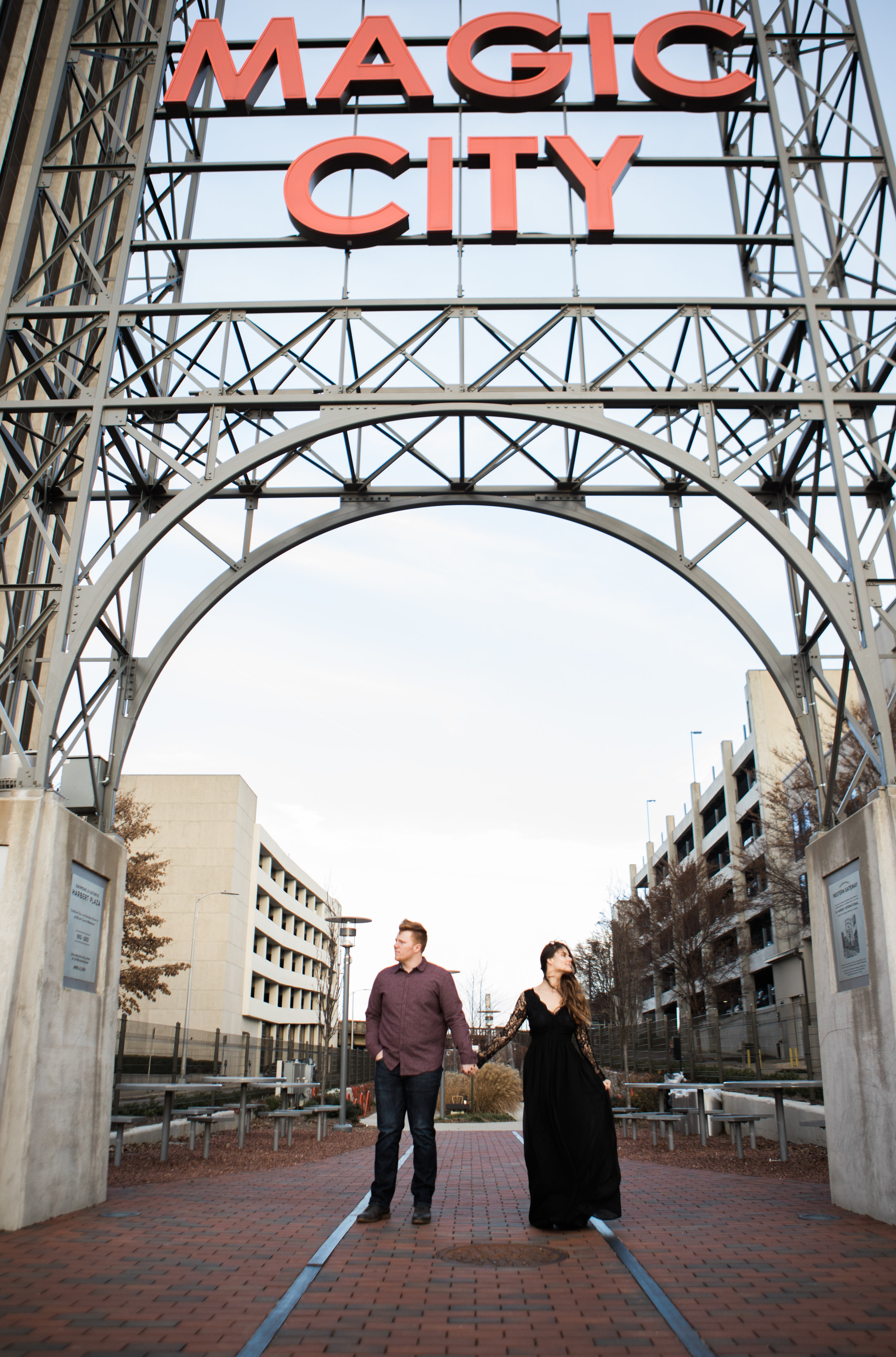 Engagement Photography Session | Rotary Trail | Birmingham, AL