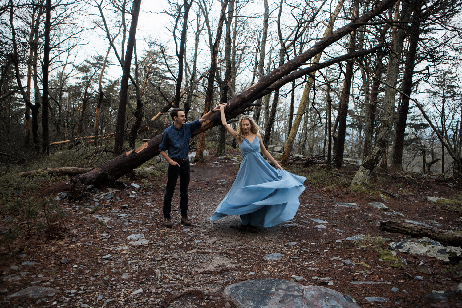 Engagement Session | Cheaha State Park | Moody Photography