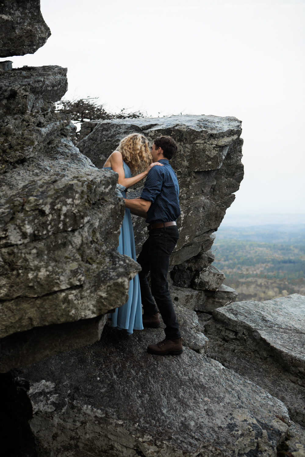 Cheaha State Park | Engagement Photography