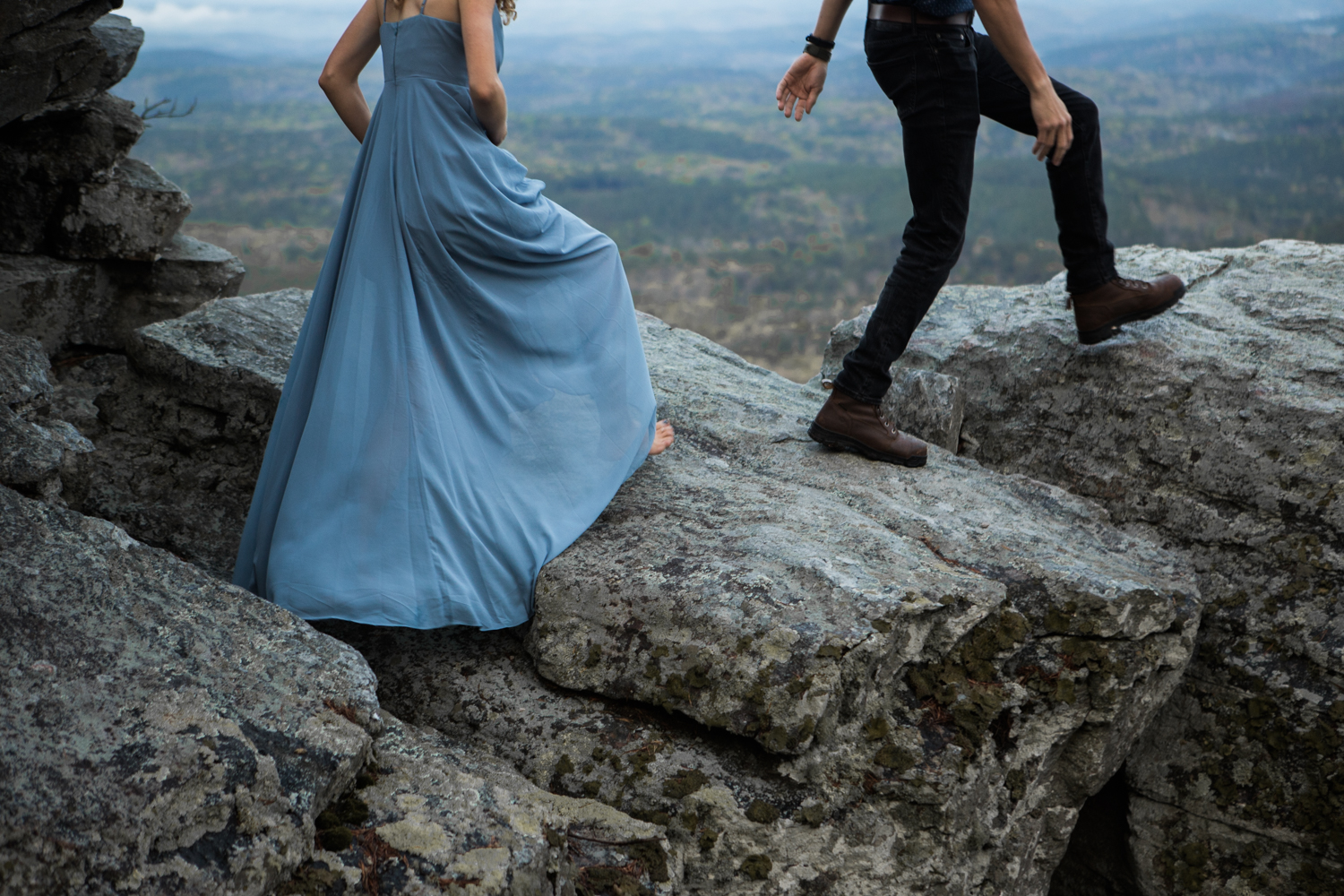 Moody Photography | Cheaha State Park | Sunrise Engagement Shoot