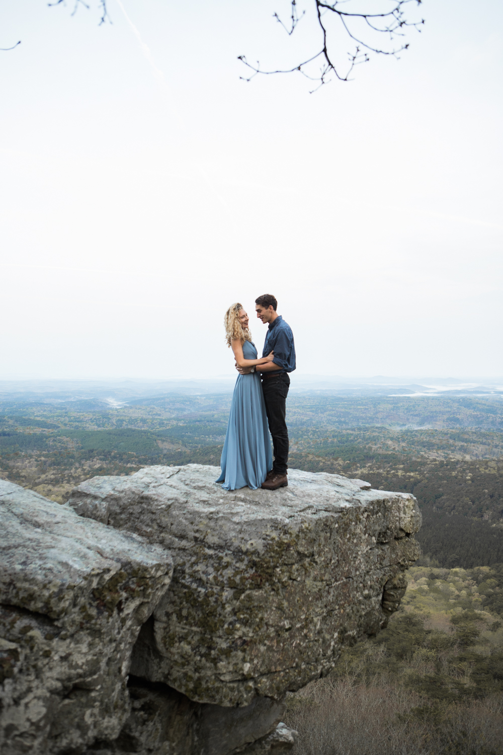 Engagement Photography | Cheaha State Park | Pulpit Rock