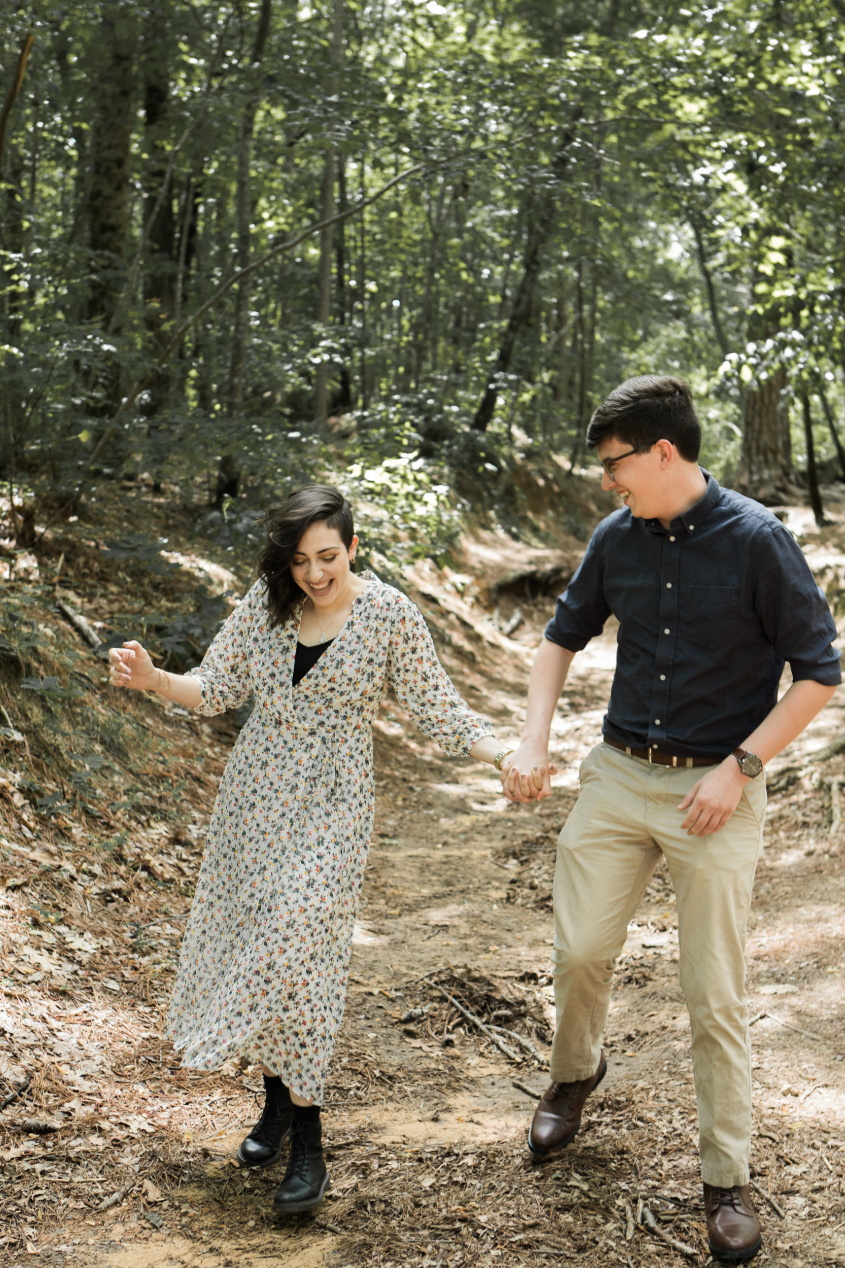 Moss Rock Preserve | Engagement Session | Hiking