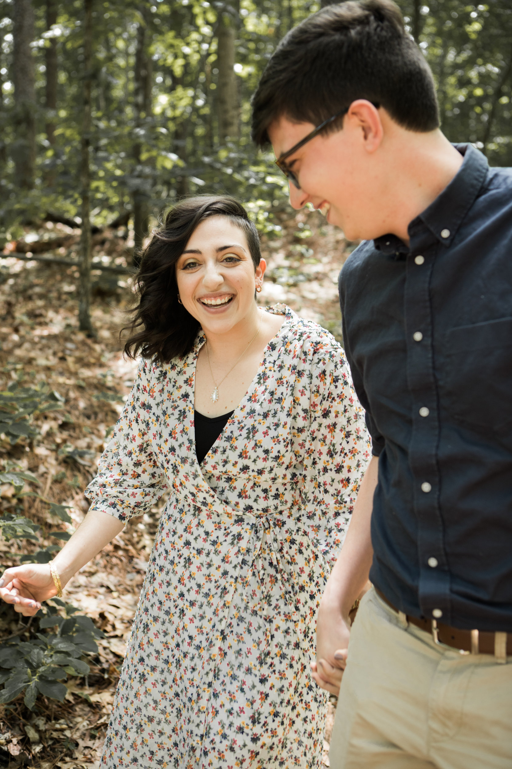 Moss Rock Preserve | Engagement Session | Zach and Michelle