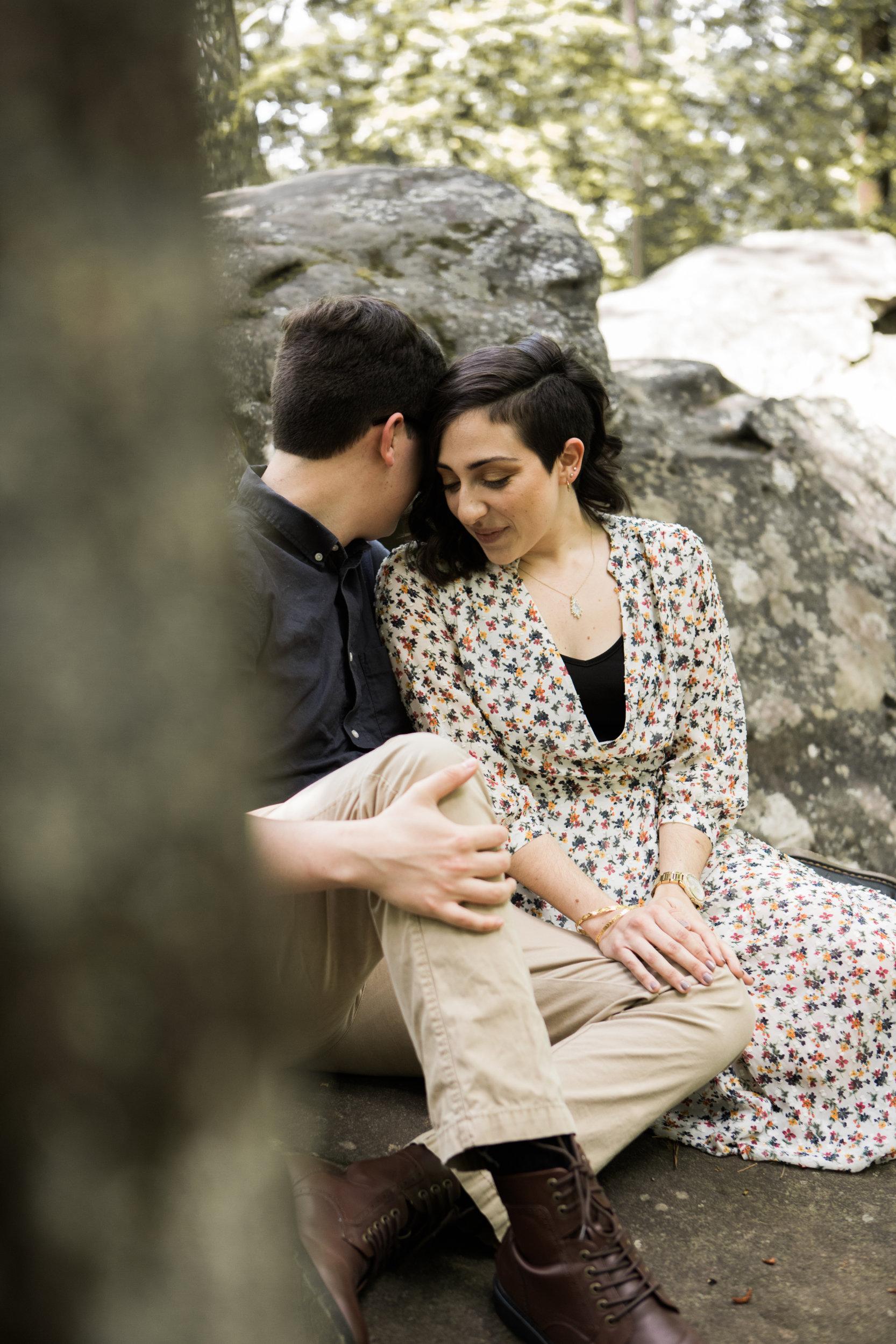 Moss Rock Preserve | Engagement Session | Hoover, AL