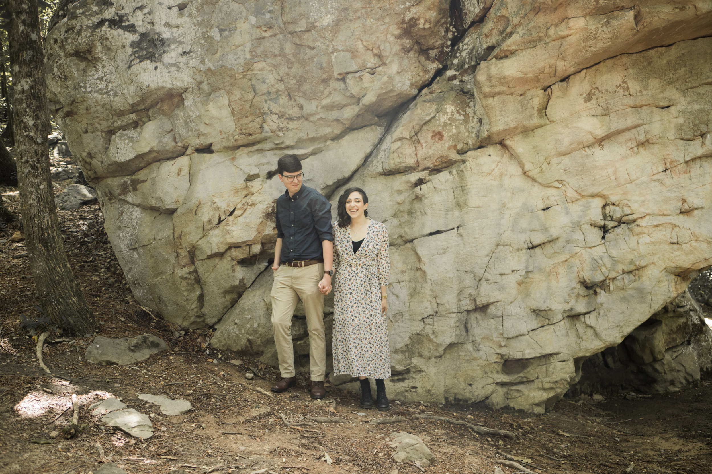 Moss Rock Preserve | Engagement Session