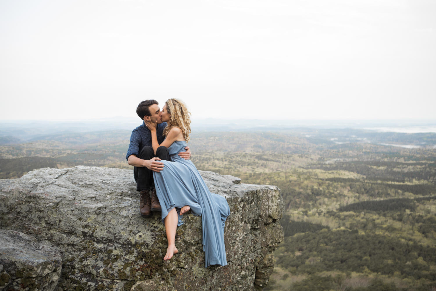 Engagement Session | Cheaha State Park | Pulpit Rock