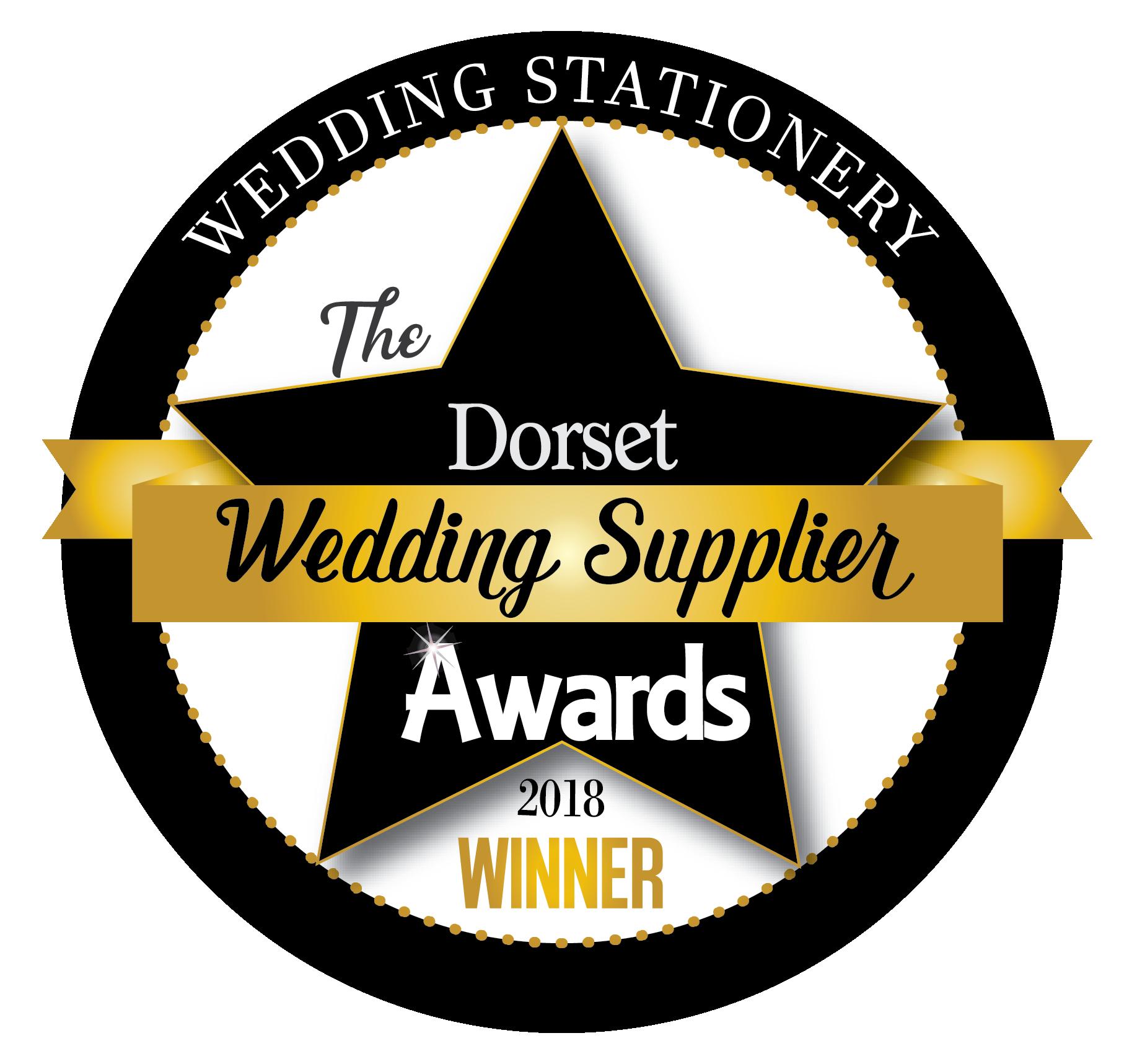 The Dorset Wedding Supplier Awards | Stationery Winner 2018