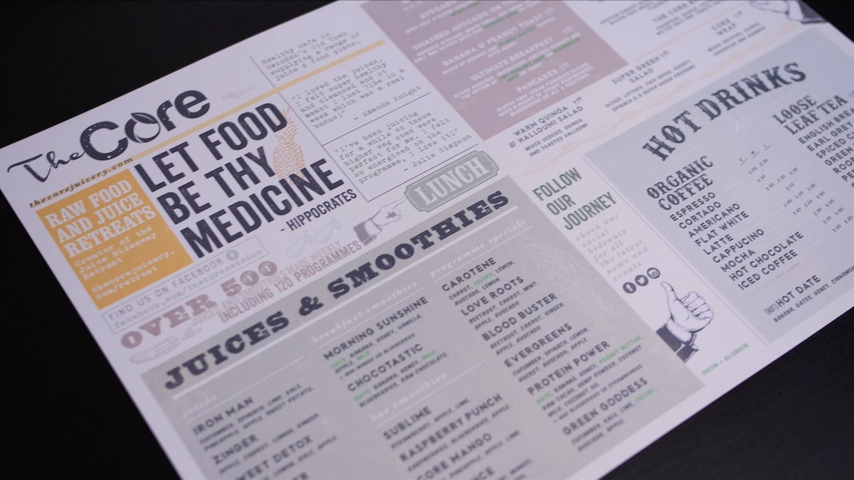 the-core-juicery-menu-design-graphic-typography-restaurant-1.png