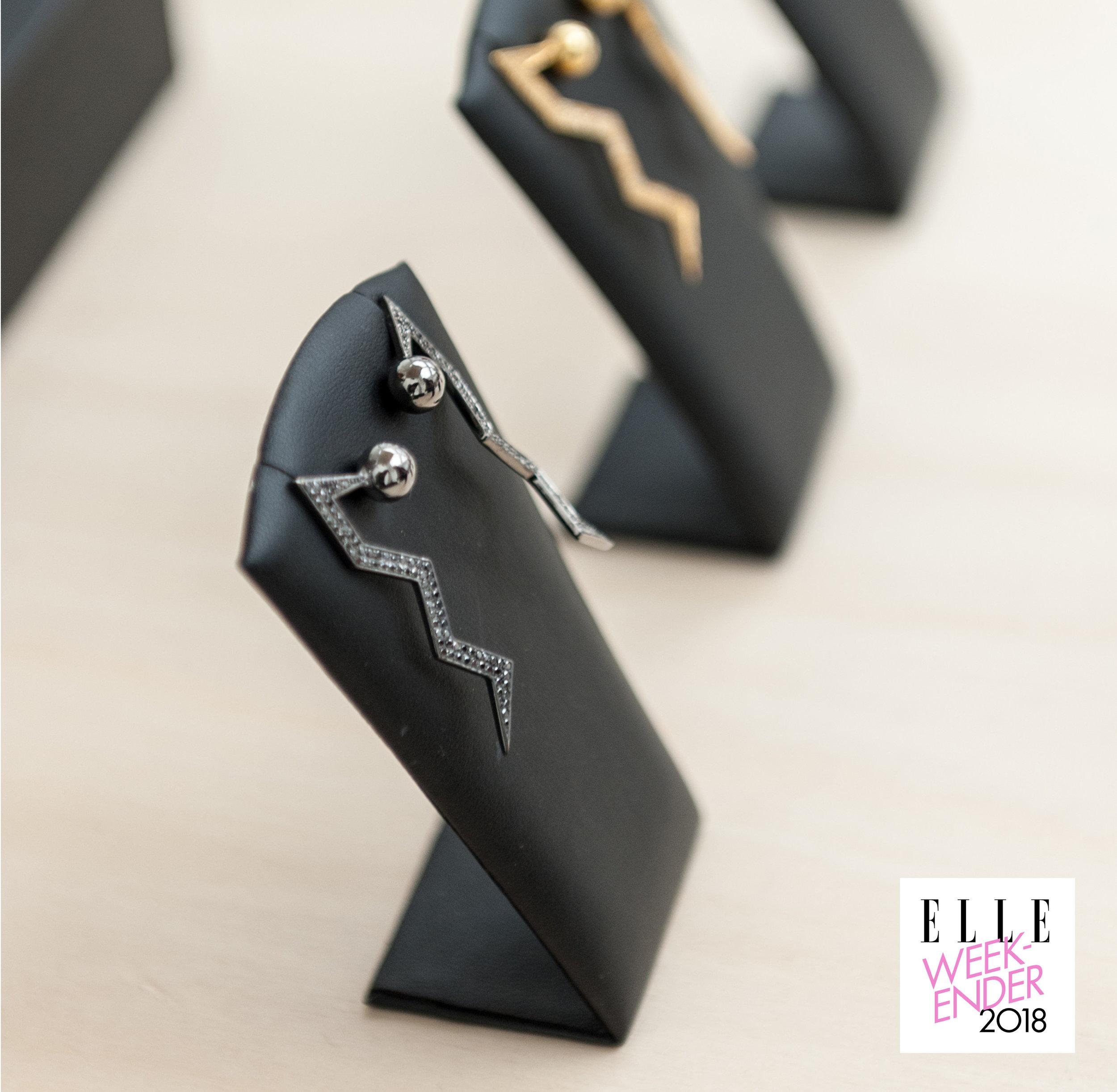 Elle Weekender-Black Earrings Elle.jpg