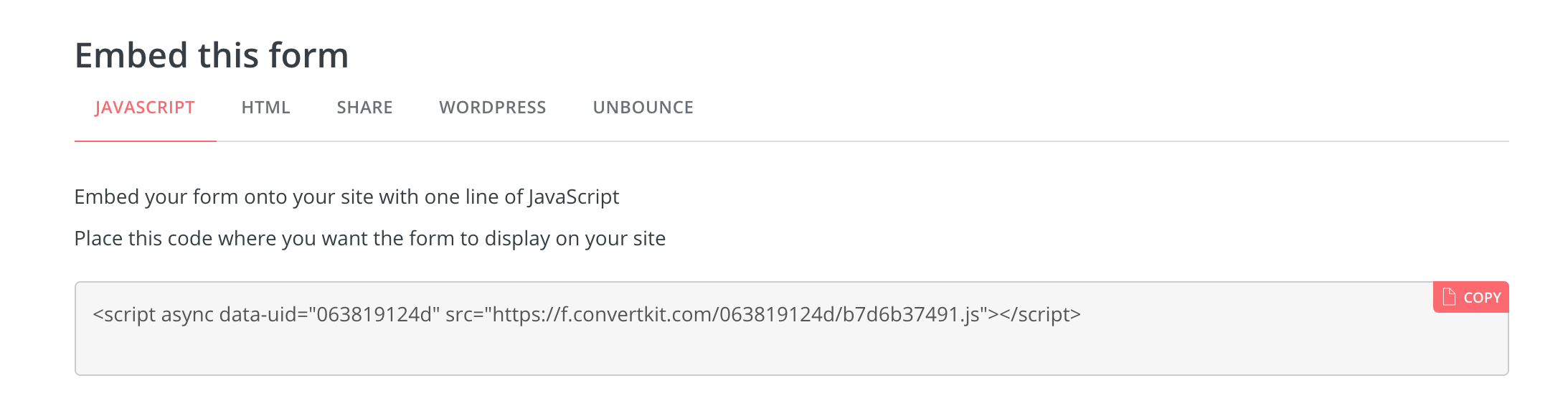 ConvertKit-Embed Options.png