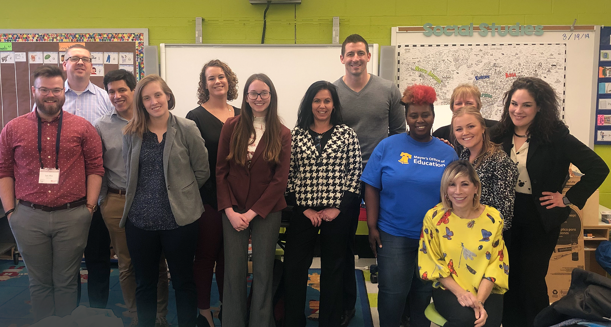 Alain Locke Elementary Career Day 2019 - Click Here to Open the Gallery