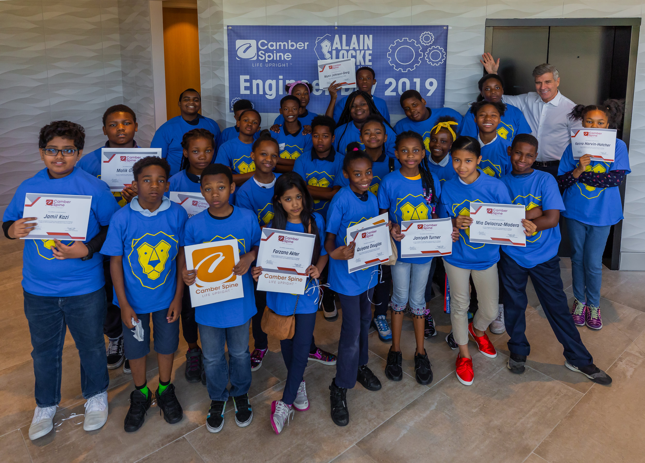 Alain Locke Elementary Engineer Day - Click Here to Open the Gallery