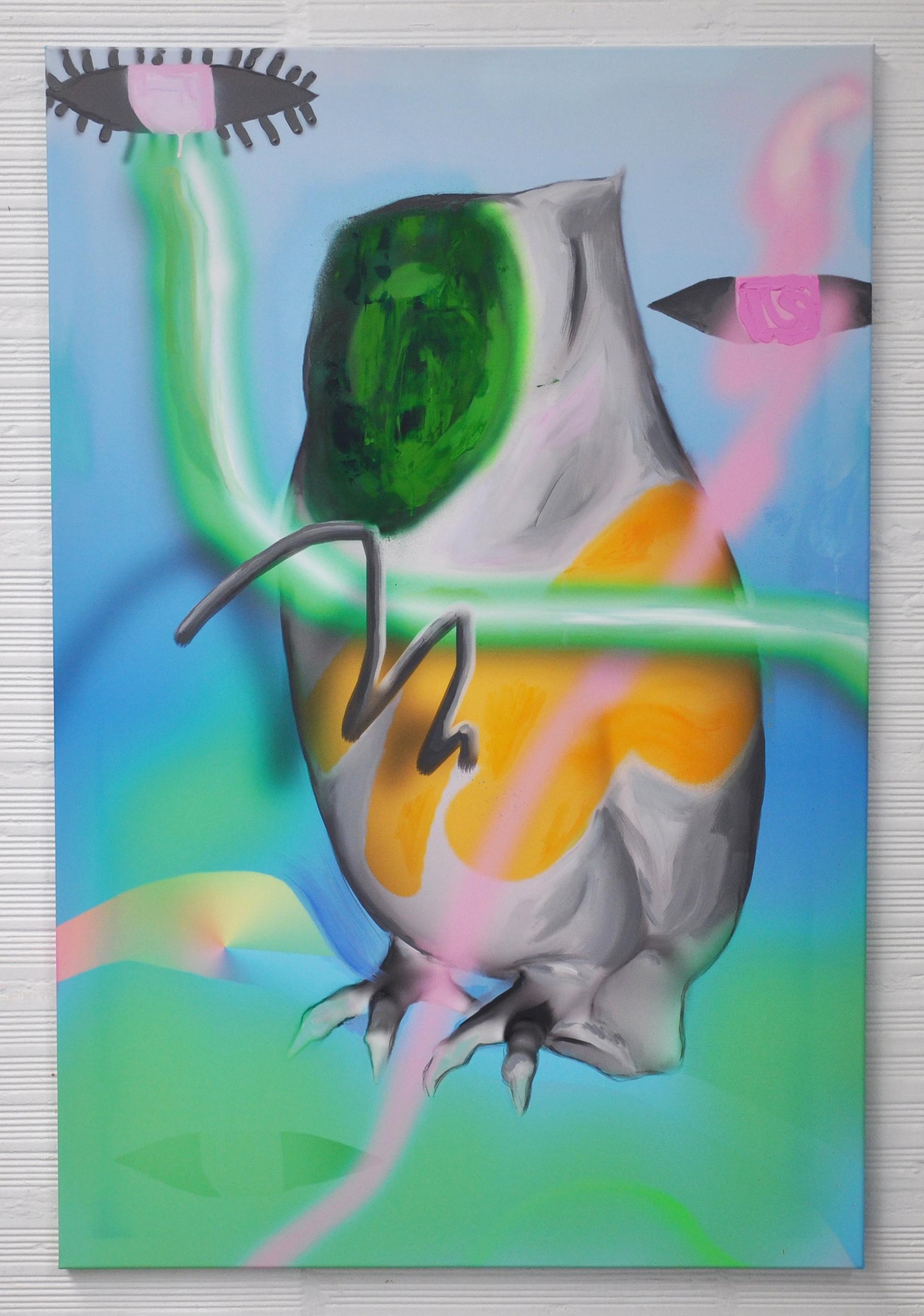 atavism 2, acrylic on canvas, 120x80cm