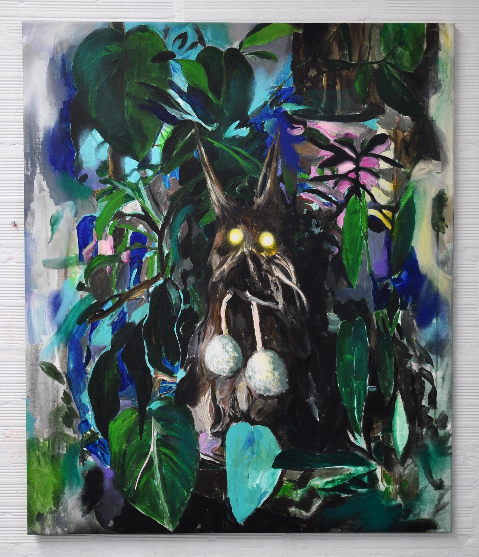 luciole, acrylic on canvas, 130x100cm