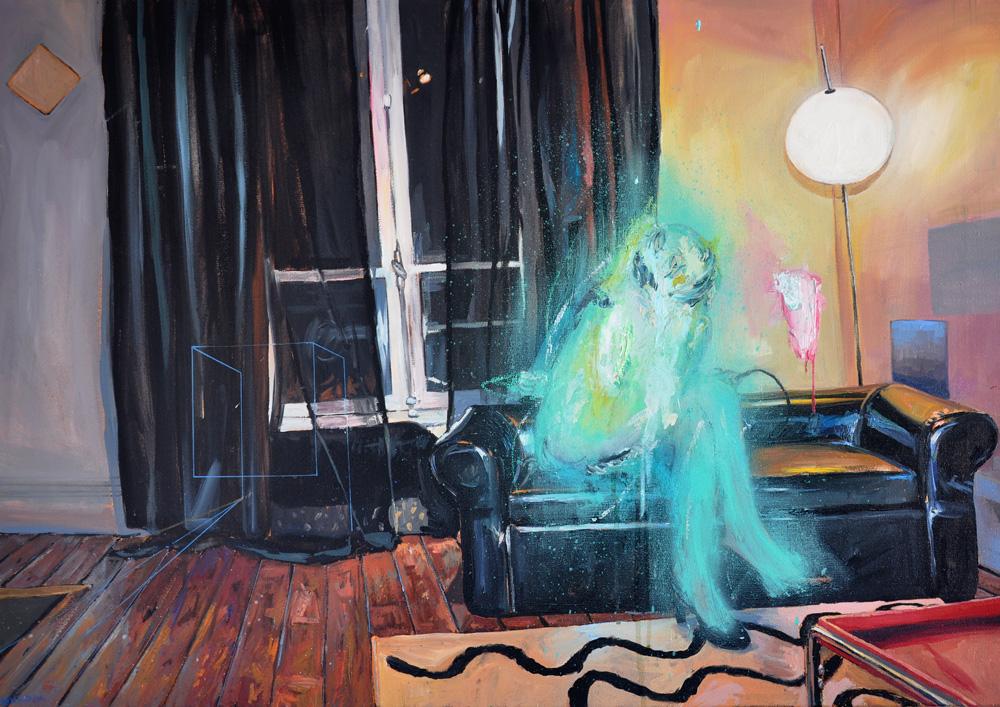 wusipyo, oil on canvas, 65x92cm
