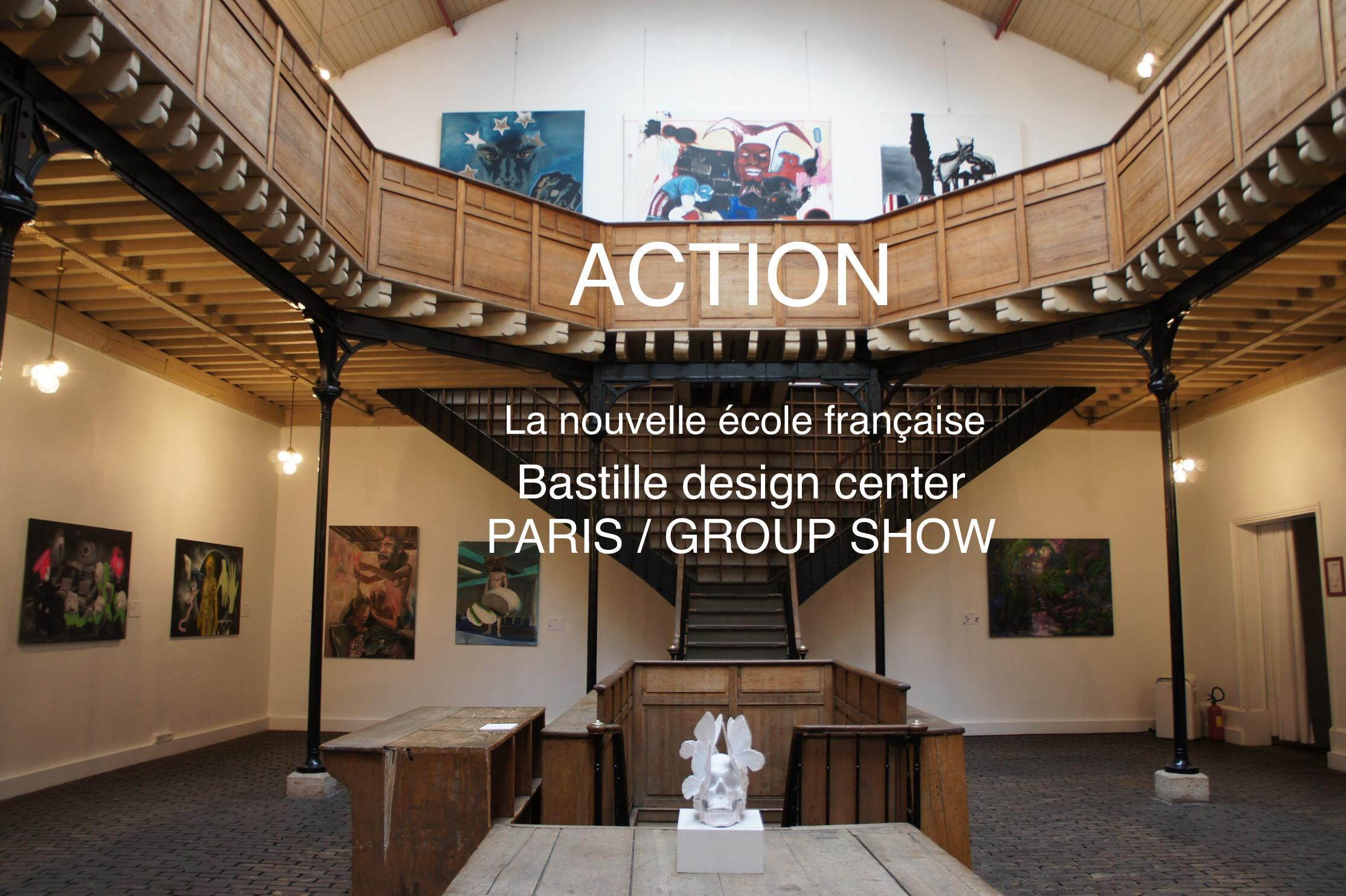 la nouvelle école française, group show