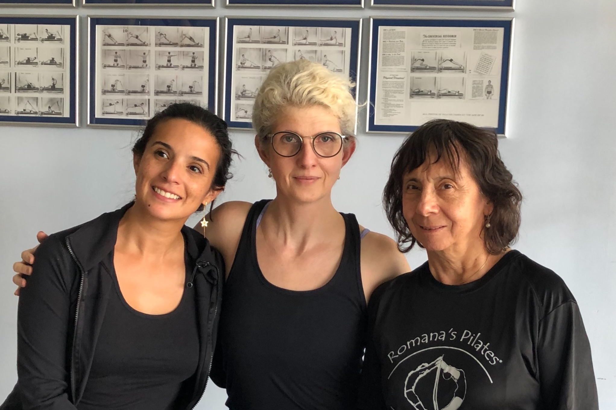 Daria Pace , Swan Lyon and Sari Mejia Santo - March 2019 at Romana's Pilates WHQ Fort Lauderdale