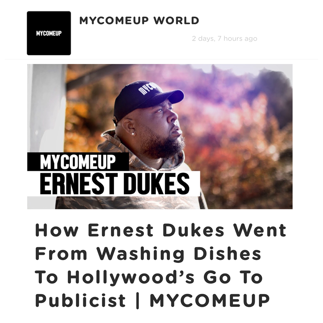 ERNEST DUKES - MY COME UP.jpg