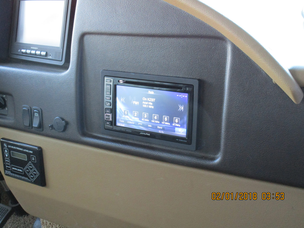 RV Double-Din Upgrade After