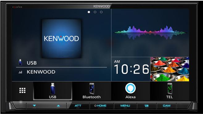 Kenwood Excelon DMX906S - $649.99