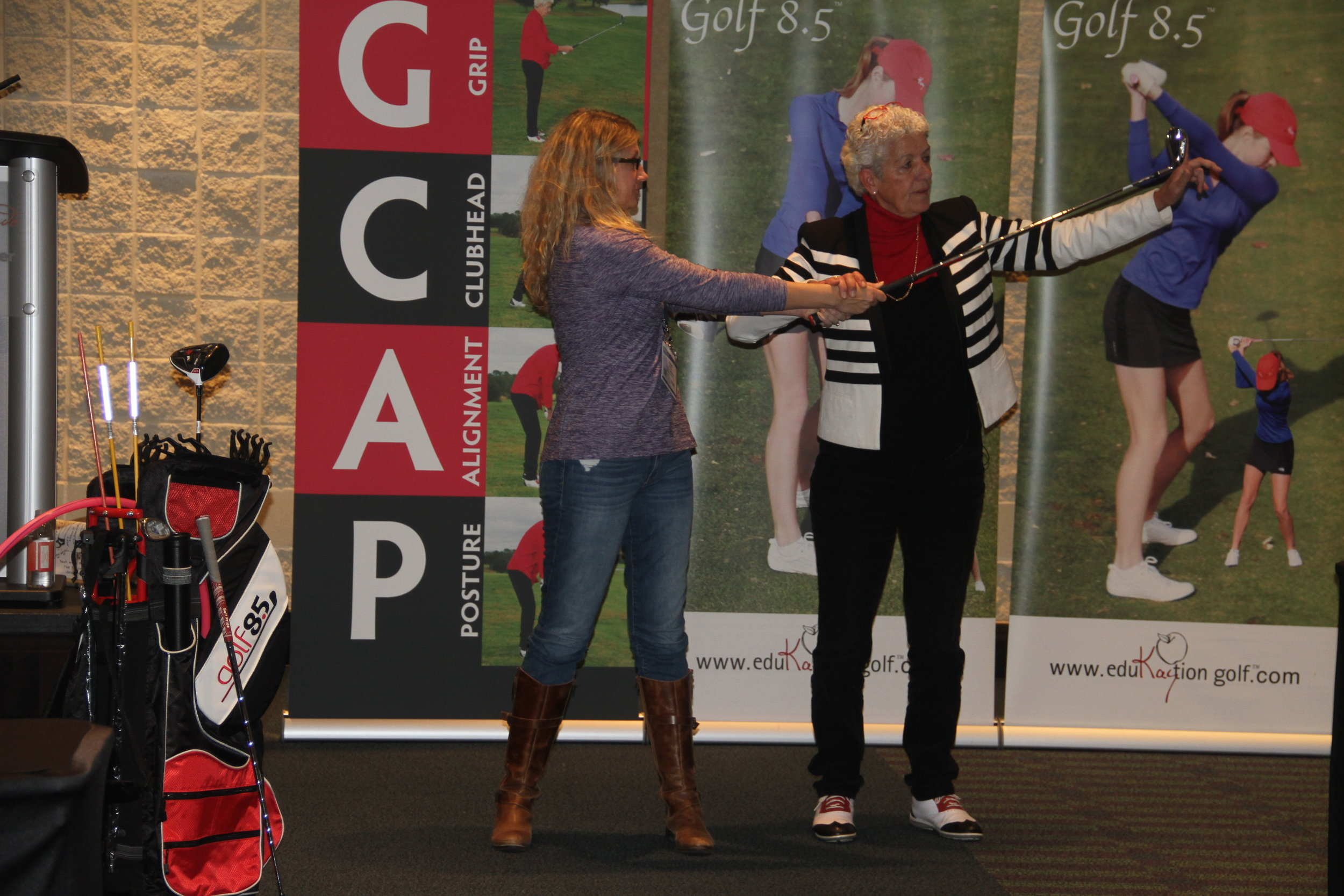 """Garlic Golf Presentation- """"Cures everything that ails you"""" at PGA Show 2018"""