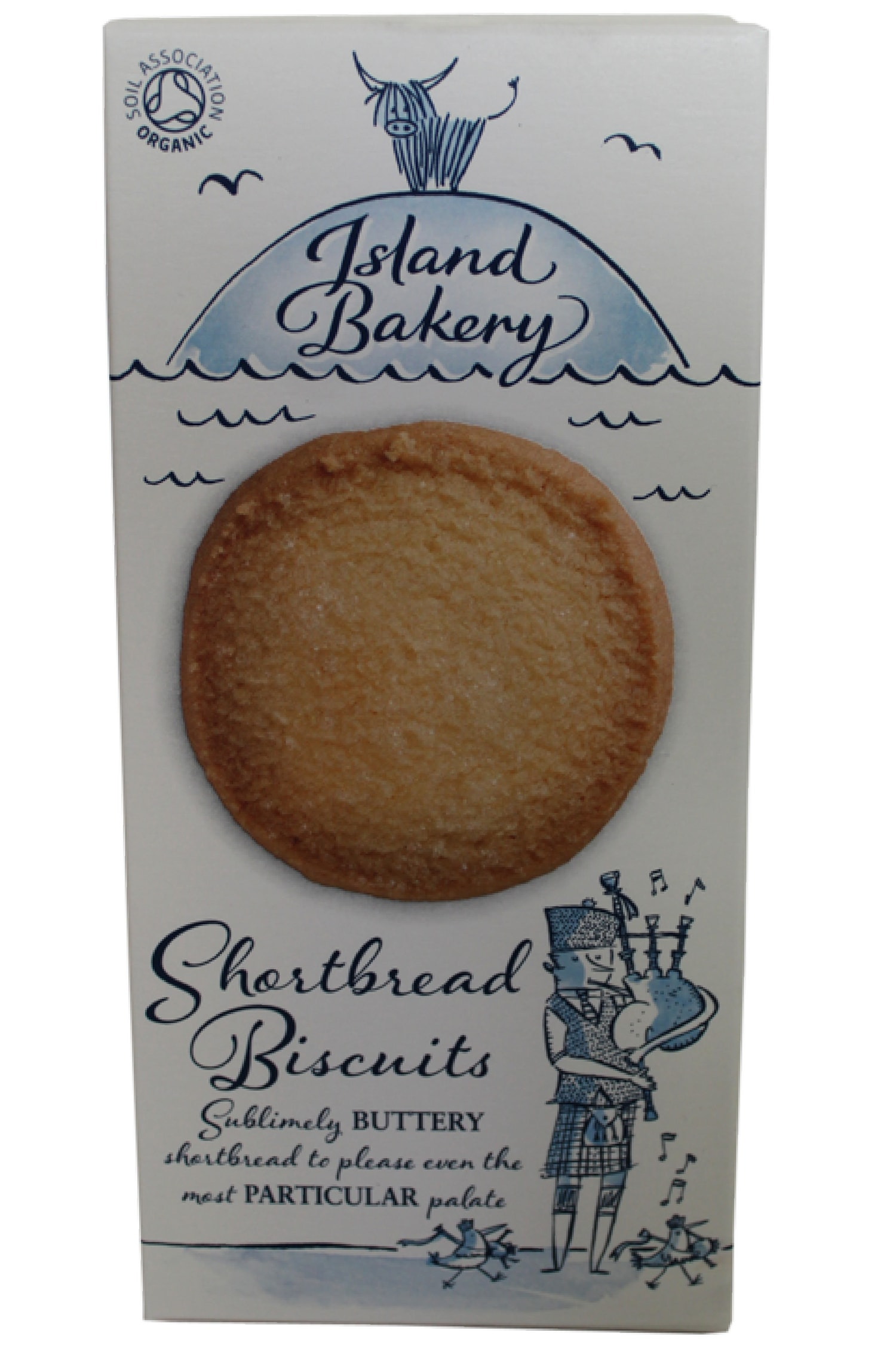 There's no nonsense here, pure and simple. The ingredients list is short and sweet, just like these shortbread biscuits.