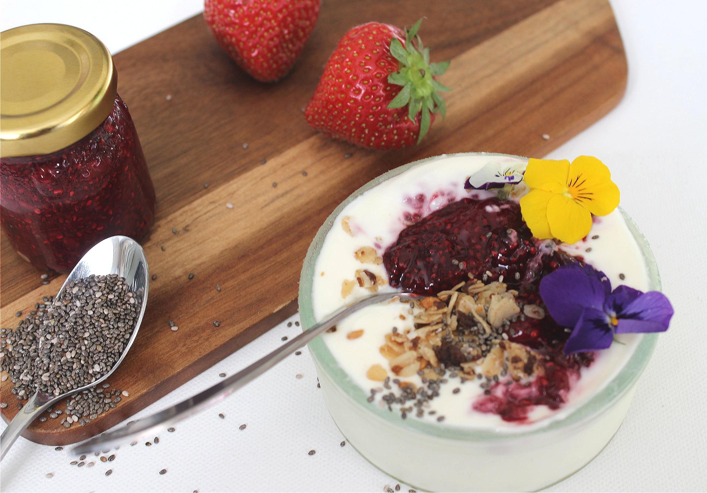 Mixed Berries Chia seed Jam