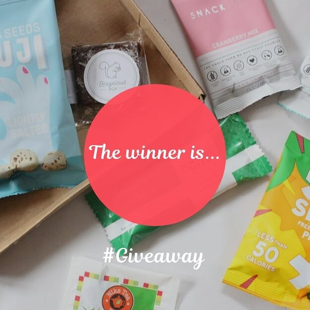 Happy to announce that the winner of our Giveaway is @mamarunnerconfibromialgia 👏🏻👏🏾. Congratulations to you 🤗 and thank you to those who took part in the giveaway ♥️ #giveaway #giveawaytime #winwinwin #andthewinneris #subscriptionbox #monthlyboxes #myhazelnutbox #tastysnacks