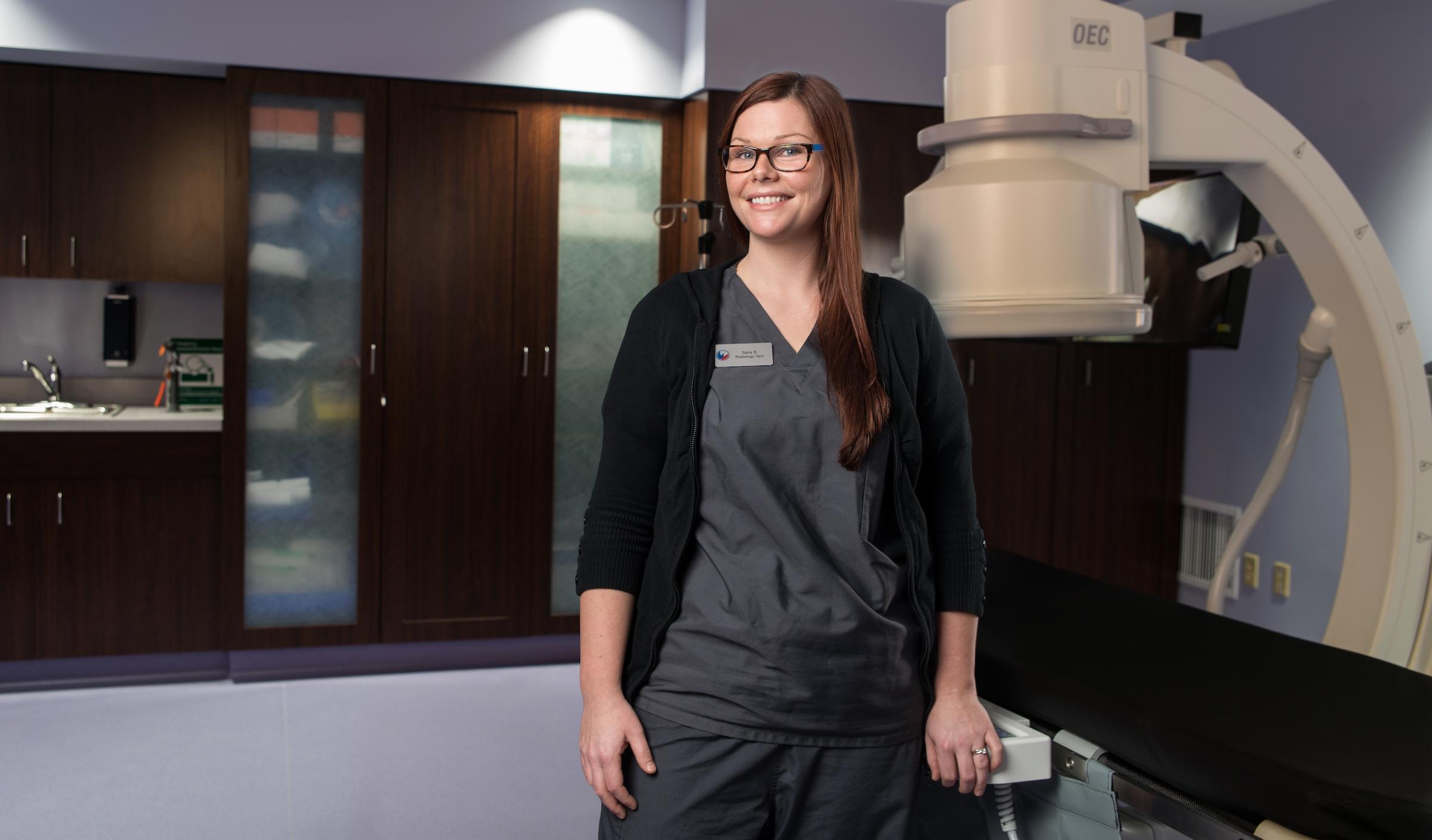 Sara Smarcz R.T. - vascular radiologic technologist