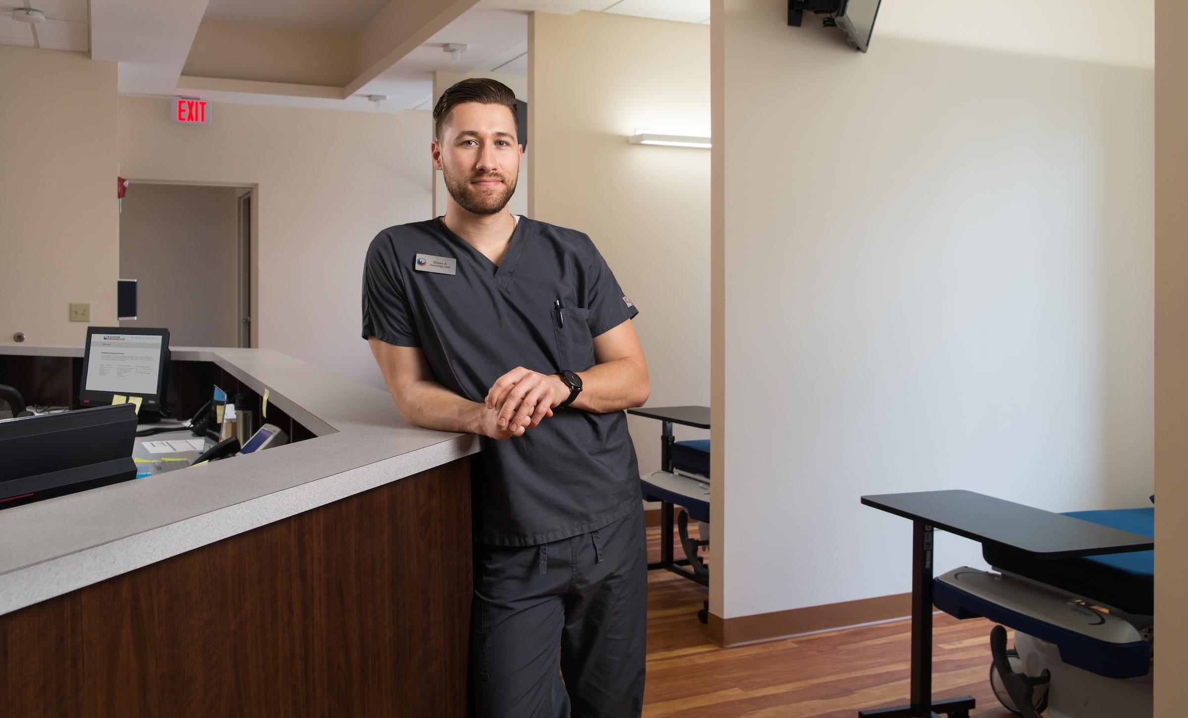Shawn Axtell R.T. - Vascular radiologic technologist