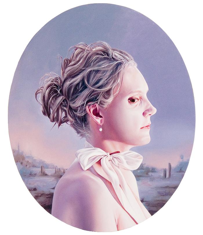 """Typhoon Odessa 2009 oil on canvas 36"""" x 30"""""""