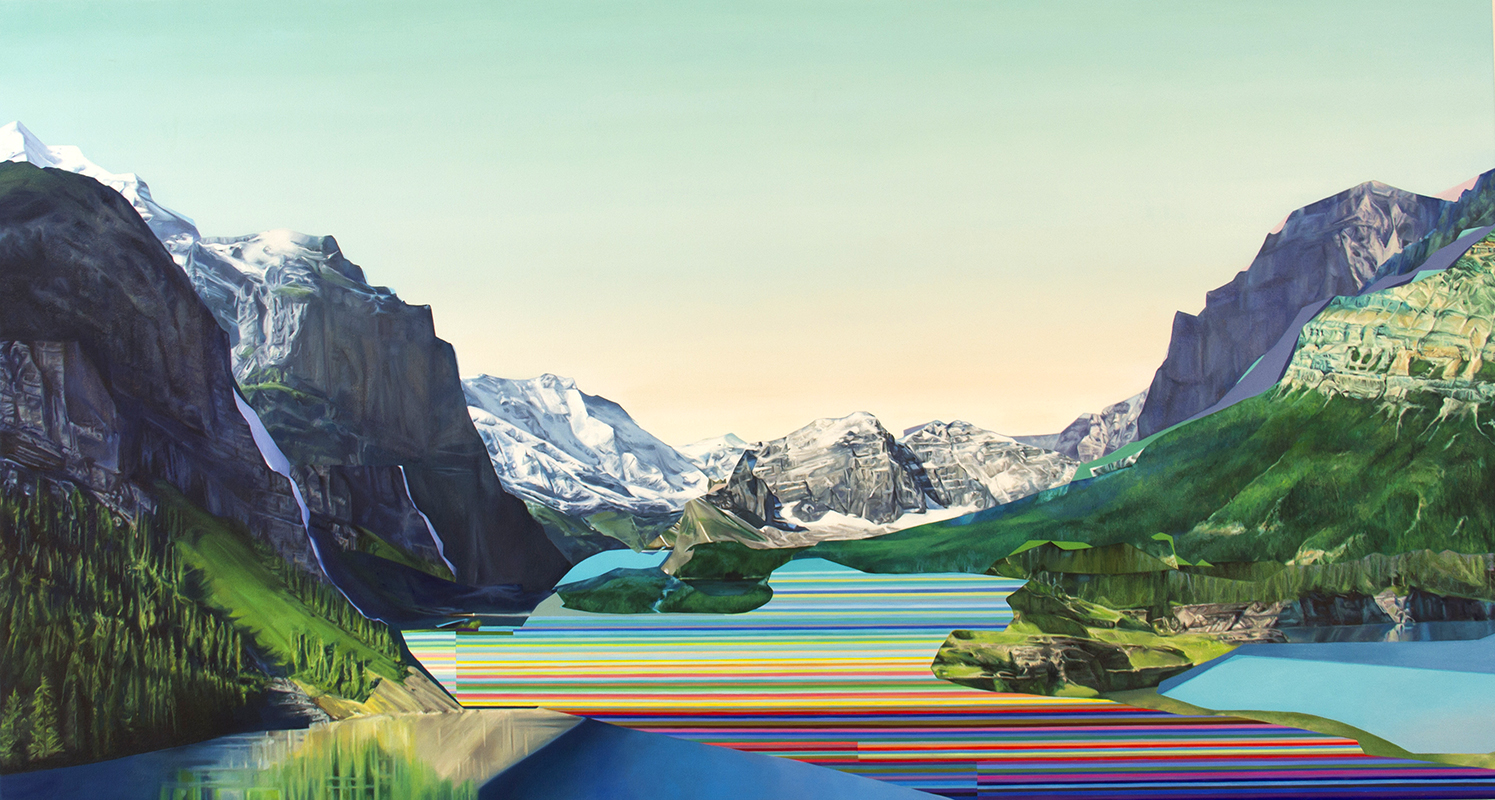"Pioneer Project 2019 oil on canvas 54"" x 100"""