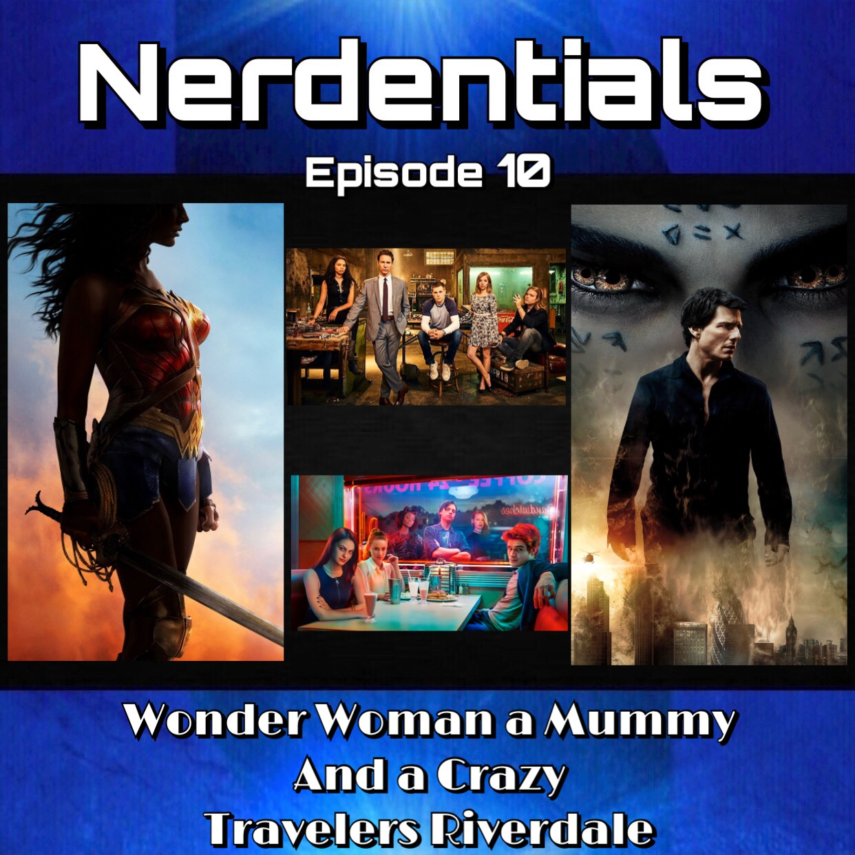 - We Kick things off with a little Movie Matters and go over:(04:22) Wonder Woman(31:00) Man Vs. (38:00) The Mummy(50:15) Transformers: The Last KnightThe We binged a few shows these last couple weeks with:Tv Talk:(01:05:50) Prison Break(01:13:00) Travelers(01:24:00) Riverdale