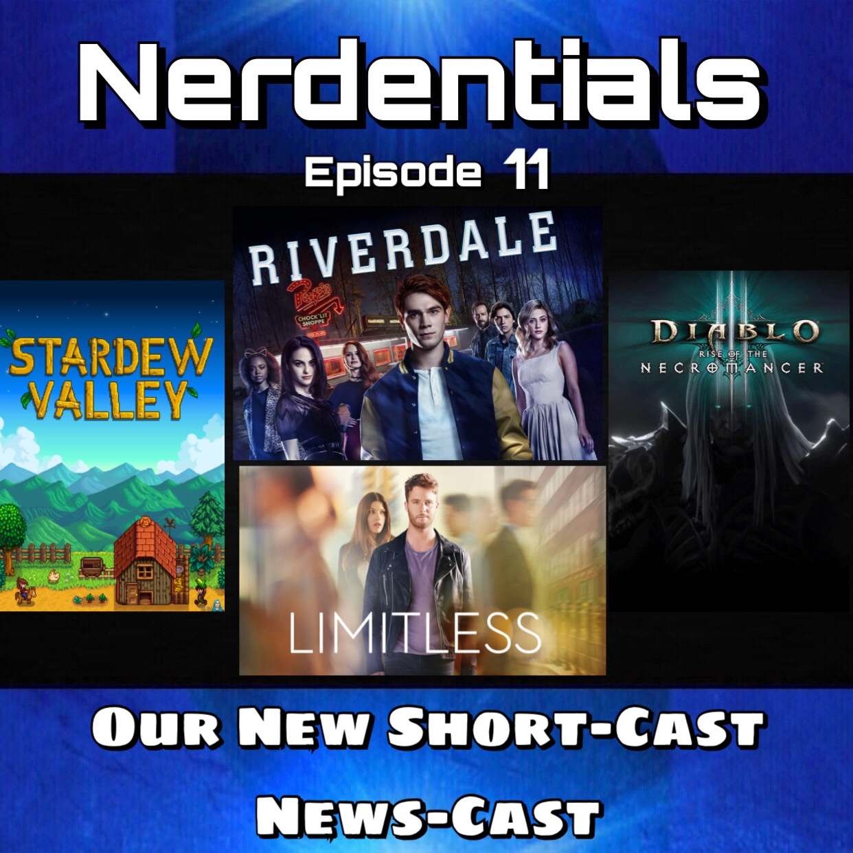 - First up this week the boys talk over the various video games we've been in...such as Diablo 3 and it's new DLC the Necromancer! Destiny shenanigans....Some Stardew Valley from Mr Barry and some classic hits from Sir Nicholas like, Legend of Dragoon!Then in TV Talk Matt gushes over his binge watching of Riverdale and Travelers and Joe hit the Film to Tv adaptation of Limitless. Sit back and enjoy this round of Nerdy Conversation!