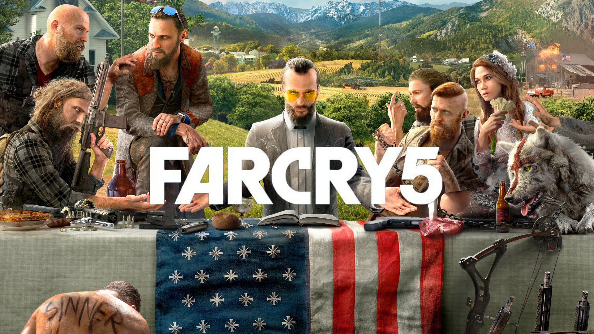 Far Cry 5 - Welcome to a Nerdentials Let's Play! This week, your nerd host Joe is taking a break from the desert in AC: Origins...and jumping into a new game that just came out... FAR CRY 5! Come check out the mayhem in this latest release from Ubisoft!