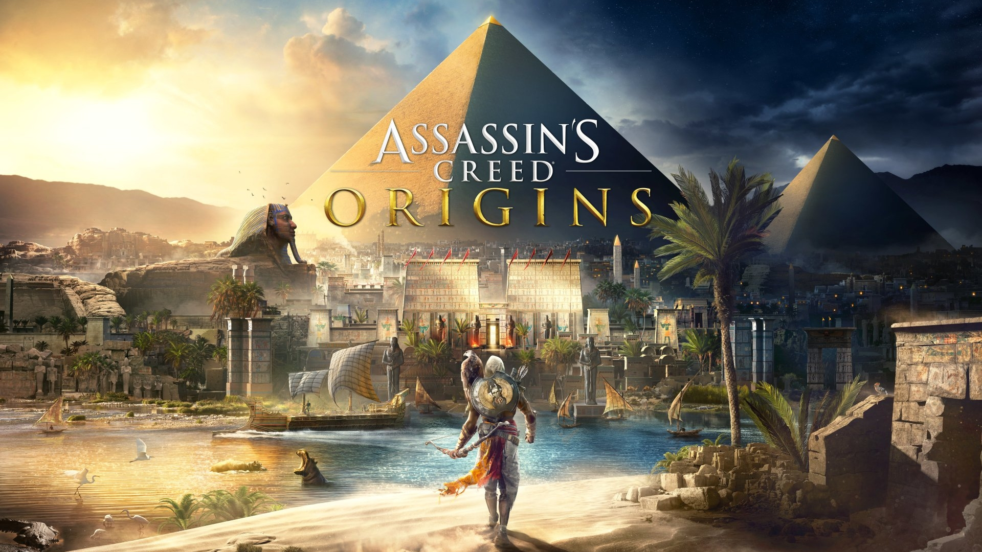 Assassin's Creed: Origins - Welcome to a Nerdentials Let's Play! Featuring your nerd host Joe! Join him in this deep dive into ancient Egypt!