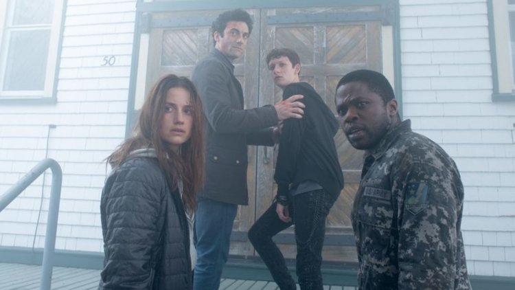 Left to Right: Danica Curcic, Morgan Spector, Russell Posner and Okezie Morro