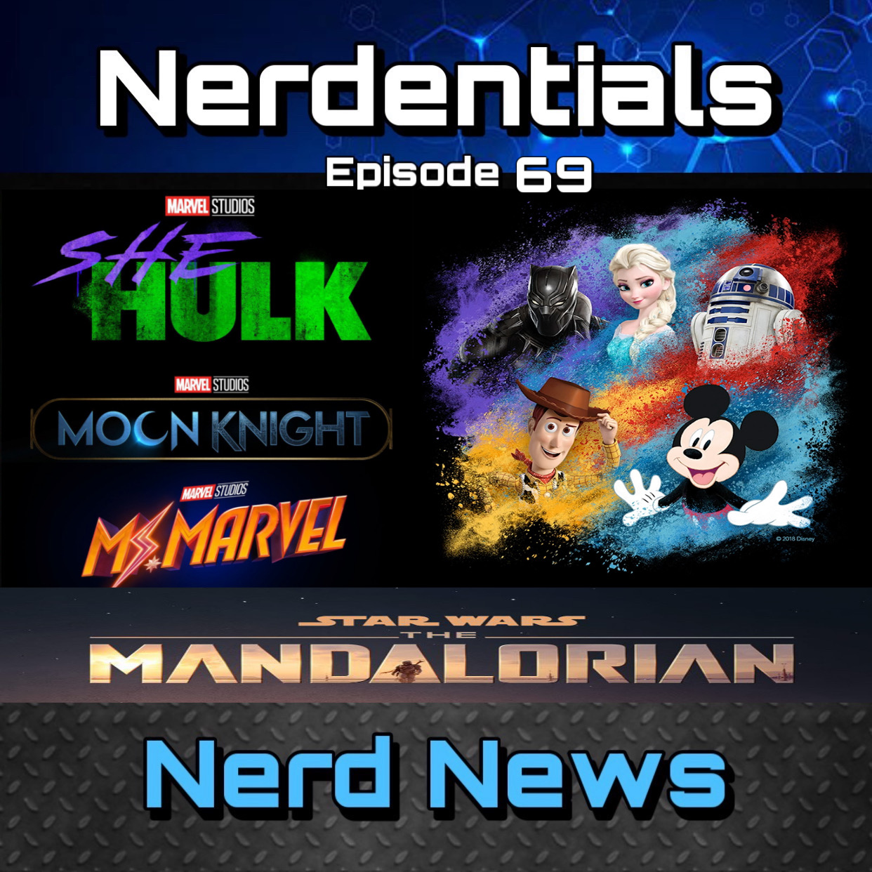 - Welcome to Nerdentials! Your weekly dose of the nerdy essentials. Covering Film, TV, Video Games and Comics.This week your fellow nerds Joe, Matt, Nick and Lynn cover almost every announcement that come through the D23 event. Time Stamps bellow are for you listening convenience!