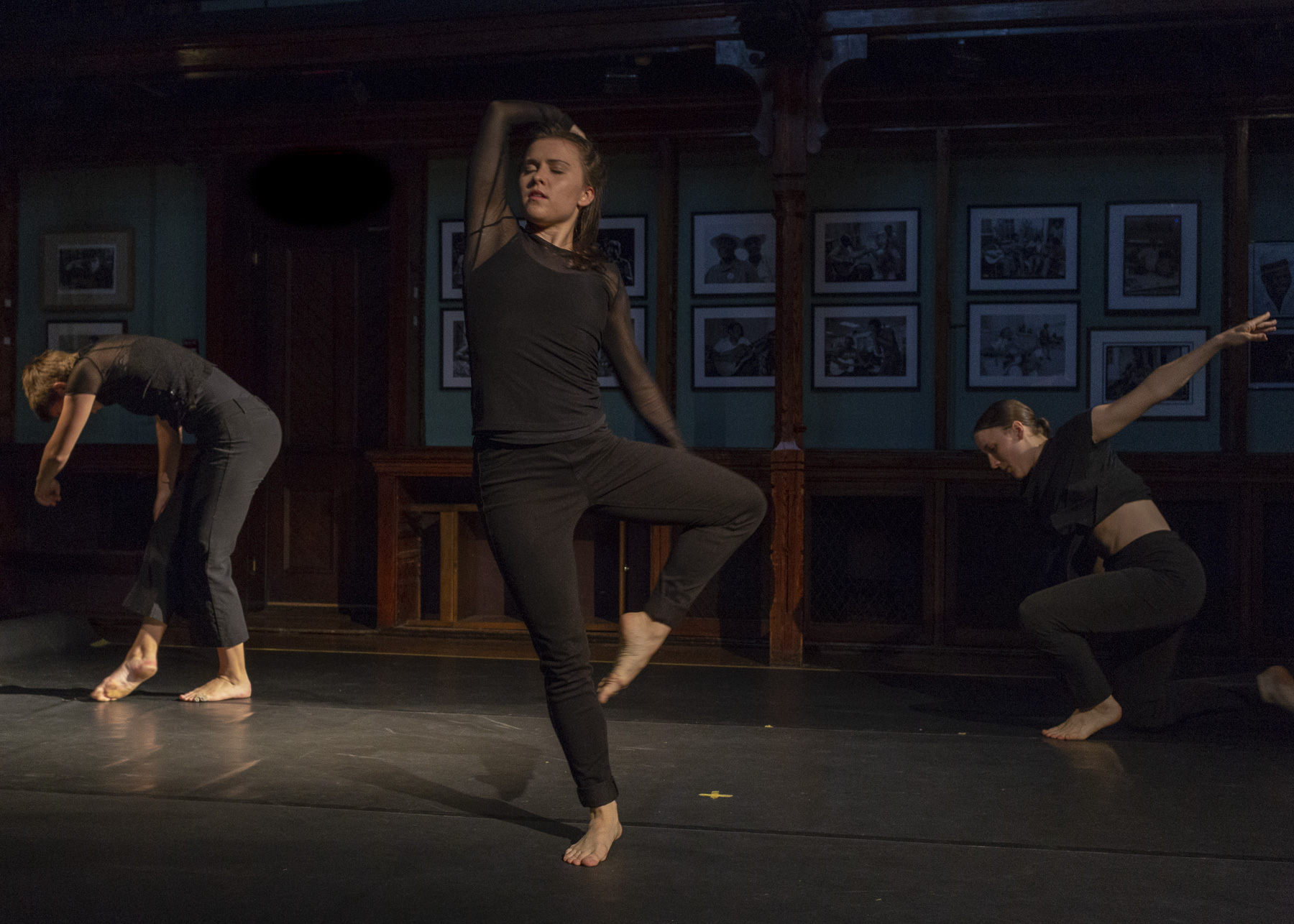 """Performing """"Of the Earth Far Below"""" at the Howland Cultural Center  Photo: Margrit Wenzel"""