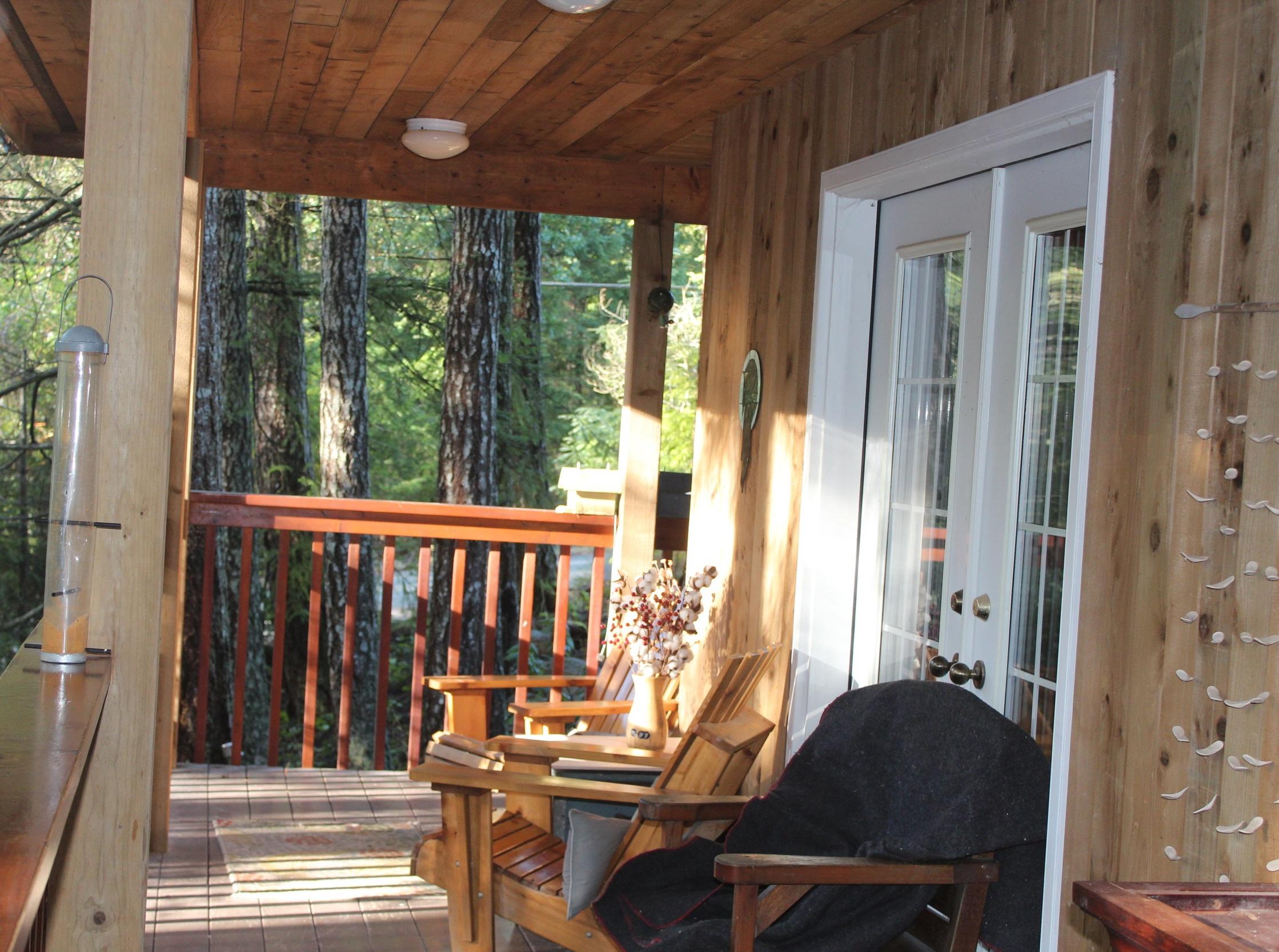 Private deck access from the Veranda Room