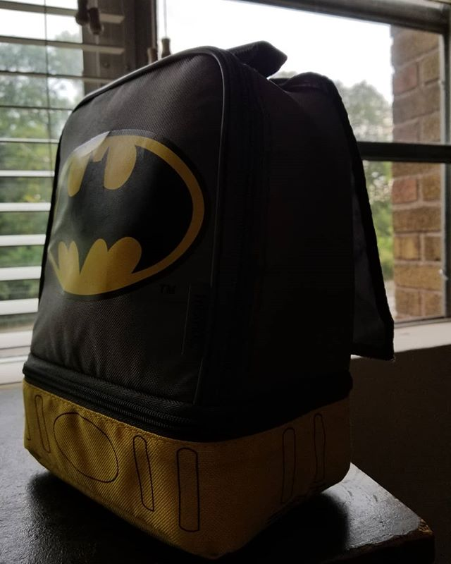 Starting out @whole30 like. . . . . . . . #whole30september #whole30september2018 #mealprep #batman #lunchbox #huntressofhappy