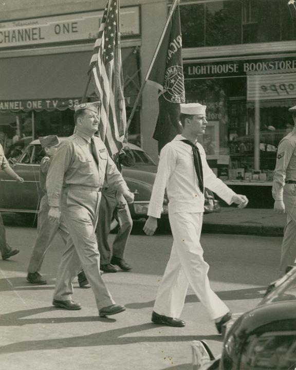 Memorial Day Parade c. 1950's