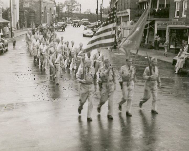 Civil Defense Parade during WWII