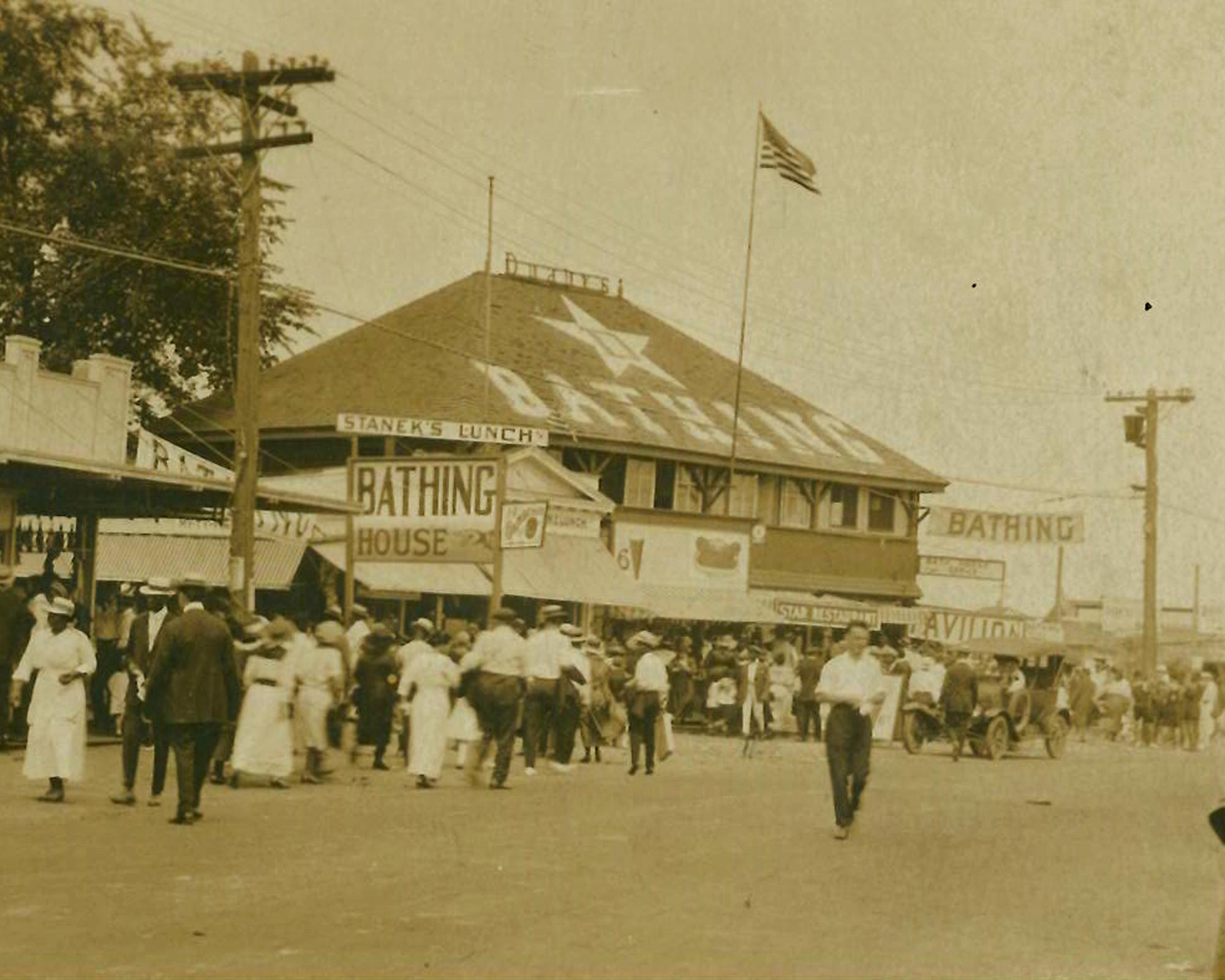 Rye Beach before Playland c 1910