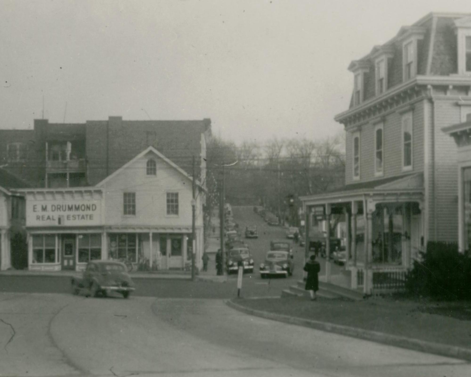 View toward Purdy Street from Theo Fremd c 1930's