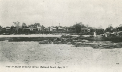 View of Oakland Beach Showing Camps